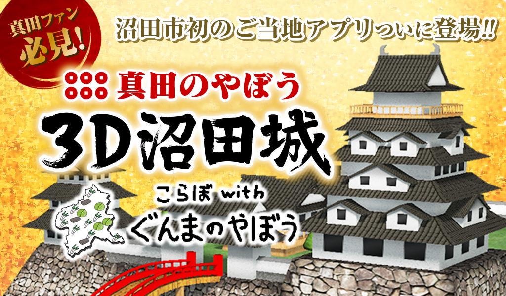 真田のやぼう3D沼田城